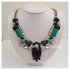 Statement necklace Amy de Petatiux