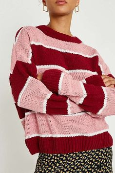 UO Striped Chenille Jumper | Urban Outfitters | Women's | Jumpers & Cardigans #UOEurope #UrbanOutfittersEU