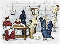 Gifts from the Vatican! The Inquisition.