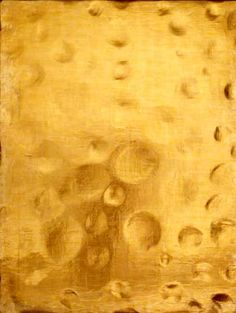 Cave to Canvas, Yves Klein, Untitled Monogold (Mg c. Yves Klein, Love Over Gold, Nouveau Realisme, Pop Art, Concrete Art, First Art, Mid Century Modern Design, Gold Texture, Color Of Life
