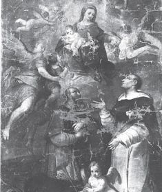 Fidenza arte e storia: Madonna del Rosario col Bambino in gloria