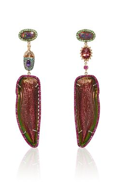 One-Of-A-Kind Enigmatica Earrings by Daniela Villegas for Preorder on Moda Operandi
