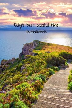 Europe travel destination tips. Italy has a lot to offer, culture, art, music and amazing food. But it is also blessed with natural beauty. Click on this link to find some of Sicily's best coastal hike destinations.