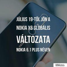 Kis csavarral érkezik a Nokia a nemzetközi piacra Nokia 6, Letter Board, Tech, Lettering, Technology, Calligraphy, Letters, Texting
