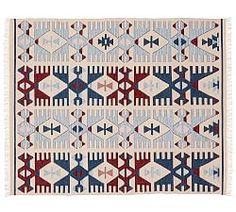 Kilim Rugs, Flat Weave Rugs & Flatwoven Rugs   Pottery Barn