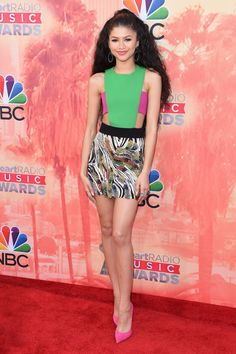 At the 2015 iHeartRadio Music Awards in Los Angeles.  - ELLE.com