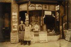 Hostin's shop in Atherton Place, Devonport, Plymouth, via Flickr.