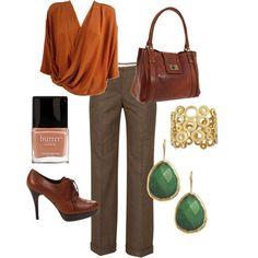 Autumn wear for work Office Fashion, Work Fashion, Cute Fashion, Fashion Looks, Fashion Outfits, Womens Fashion, Fall Office Outfits, Fall Winter Outfits, So Love