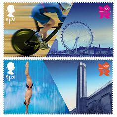 Londres 2012 Juegos Olímpicos de Sellos
