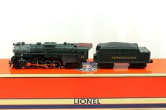 O Lionel 2-8-4 PRR Pennsylvania Berkshire Jr #56 Locomotive & Tender 6-28656