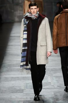 Fendi Fall Winter 2015:Milan Menswear Fashion Week