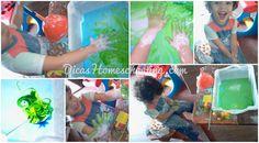 DICAS Homeschooling: Atividade Sensorial Dica Aumentando o Interesse na...