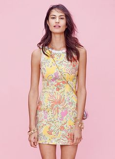 Every Single Piece From The Lilly Pulitzer x Target Collection #refinery29  http://www.refinery29.com/2015/03/84530/lilly-pulitzer-target-collaboration-lookbook#slide-19  Lilly Pulitzer for Target Shift Dress - Happy Place, $38, available at Target.