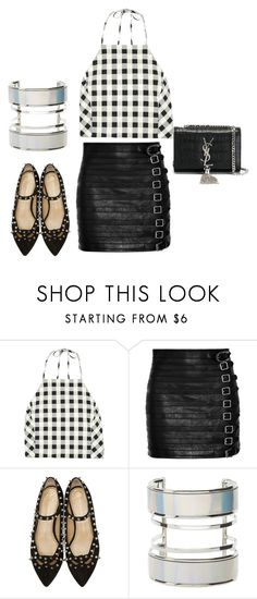"""""""Untitled #1626"""" by styledbytjohnson on Polyvore featuring rag & bone, Gucci, Charlotte Olympia, Charlotte Russe and Yves Saint Laurent"""