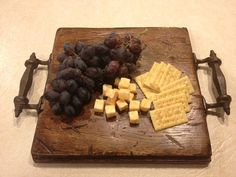 Antiqued & Vintage Finish Butcher Block Cutting Board