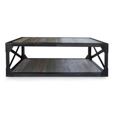 Dutch Industrial Coffee Table - Reclaimed