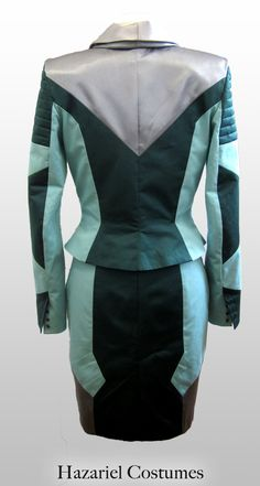 Futuristic handmade suit inspired by the Fifth Element.
