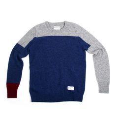 Asymmetrical Crewneck Sweater