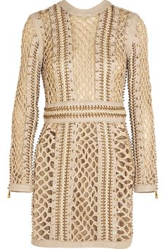 Shop on-sale Balmain Woven silk and leather mini dress. Browse other discount designer Dresses & more on The Most Fashionable Fashion Outlet, THE OUTNET.COM