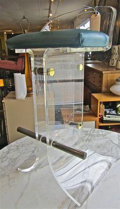 For me? Vintage leopard, chocolate or caramel velvet. lucite bar stools vintage bar stools