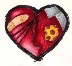 A mended little heart.  Congenital Heart Awareness week Feb7-14th.
