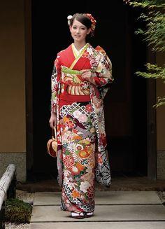 Japanese Kimono, Japanese Fashion, Geisha, Kimono Design, Folk Costume, Costumes, Coming Of Age, Yukata, Traditional Outfits
