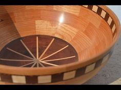 Wood Turning Segmented Bowls - YouTube