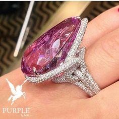 Pretty and Stylish 65k Kunzite Chopard rings by @charming___world via…