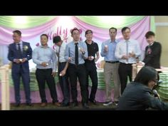 Guess the Groom - A Fun Wedding Game at A Chinese Wedding Reception in T...