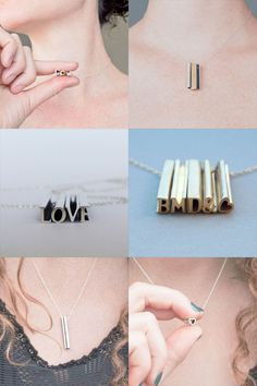 Hidden message necklace-love this