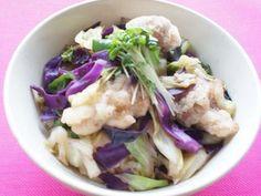 唐揚げ野菜のゆずコショウ丼:アスレシピ