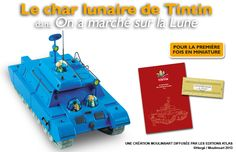 Le char lunaire Tintin Creations, Beginning Sounds