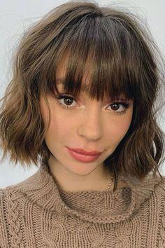 Short Choppy Bangs, Short Fringe Bangs, Choppy Haircuts, Fringe Haircut, Short Hair With Bangs, Haircuts With Bangs, Fringe Hairstyles, Short Hair Cuts, Short Hair Styles