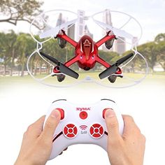Syma X11C RC 2.4G RC Quadcopter Mini Drone Helicopter Aircraft With 2MP HD Camera & LED Light WildGrow (X11C Red) - http://www.midronepro.com/producto/syma-x11c-rc-2-4g-rc-quadcopter-mini-drone-helicopter-aircraft-with-2mp-hd-camera-led-light-wildgrow-x11c-red/