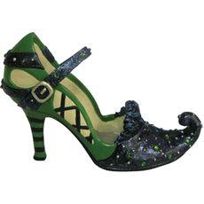 wizard of oz wicked witch shoe figurine