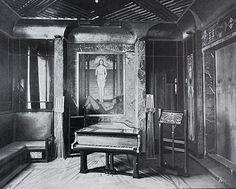 Musikzimmer im Haus Behrens mit Schiedmayer-Flügel