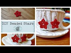 DIY: Beaded Star ¦ The Corner of Craft - YouTube