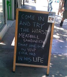 18 Funny Chalkboard Signs