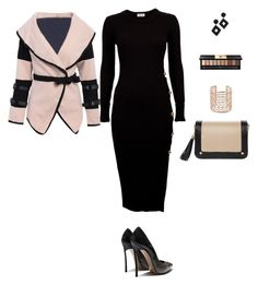 Untitled #9660 by erinlindsay83 on Polyvore featuring Co.Ro, Kenneth Jay Lane and Yves Saint Laurent