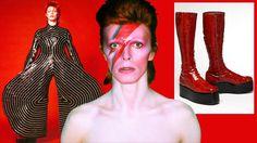 AUSSTELLUNG ÜBER DIE STIL-IKONE IN BERLIN Die schrillen Bühnen-Outfits von David Bowie