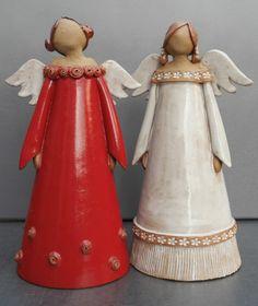 MO KERAMIK - Weihnachten, Schutzengel, Geschenk für Hochzeit und Taufe, Handarbeit, Unikate