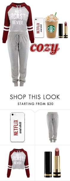 """""""cozy"""" by rowanstella-1 ❤ liked on Polyvore featuring WithChic and Gucci"""