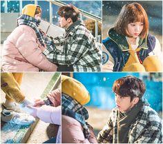 <역도요정 김복주> 이성경-남주혁, 한겨울 추위를 녹이는 '핫팩 로맨스'! 이미지-1