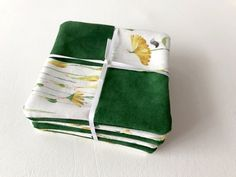 Flower Coaster Flower Mug Rugs Coaster Set Green and by 2Fun4Words