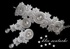 Sutasz Kleo /Soutache jewellery: ARTEMIA Z NASZYJNIKIEM