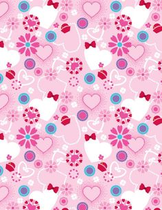 Pattern designs on behance идеи paper wallpaper, paper backg Phone Wallpaper Pink, Heart Wallpaper, Paper Wallpaper, Cellphone Wallpaper, Cool Wallpaper, Wallpaper Backgrounds, Print Patterns, Textile Patterns, Pattern Designs