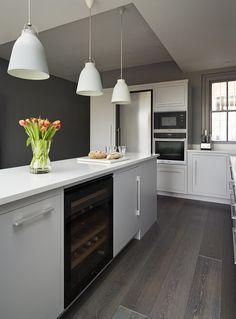 Subtle Kitchen - By Harvey Jones - The Kitchen Think Dad's Kitchen, Kitchen Units, Kitchen Design, Kitchen Ideas, Kitchen Inspiration, Kitchen Utilities, Shades Of Grey, Minimalist, Contemporary