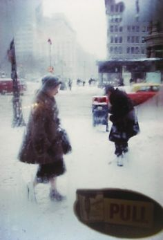 Pull c1960  Picture: Saul Leiter