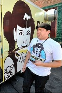 Interview with James DiSabatino, Owner of Food Truck Roxy Gourmet Grilled Cheese (Finalist of FoodNetwork's Great Food Truck Race)