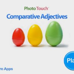 Comparative adjectives, great new app